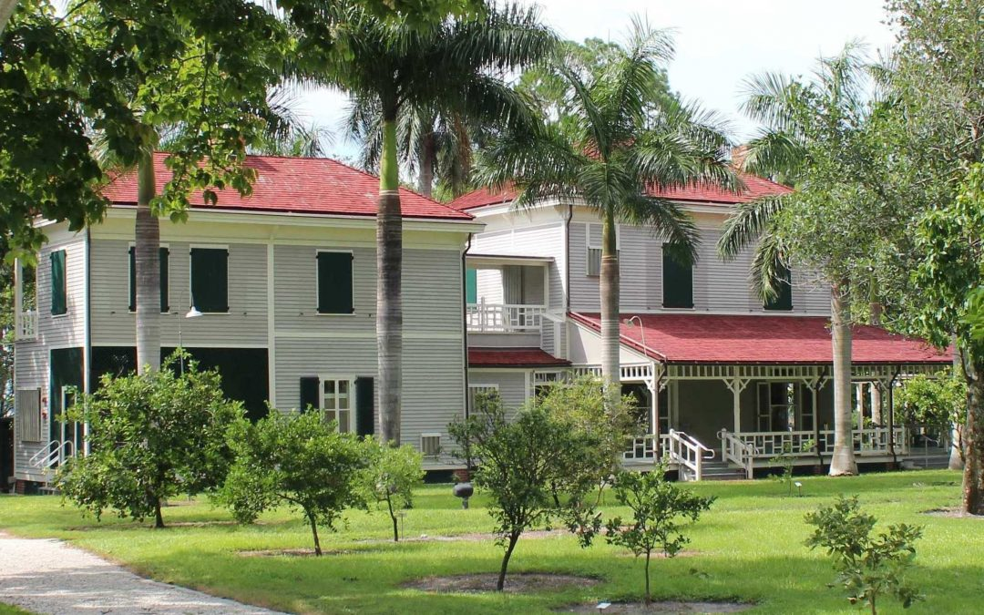On this day in 1892, Ambrose and Tootie McGregor bought half of Edison's Seminole Lodge